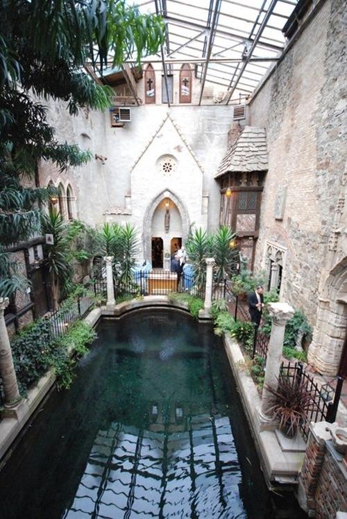 Secret botanical pool #indoor