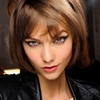 Karlie Kloss backstage at Anna Sui Fall/Winter 2013 | NYFW