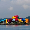 Frank Gehry's Biomuseo in Panama prepares to open