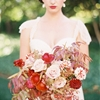 Merlot, Blush & Gold Wedding Inspiration