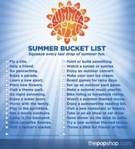summer bucket list summer-bucket-list