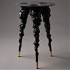 "Cauliflowers create moulds for ""monster"" stool by Studio Pasternak"