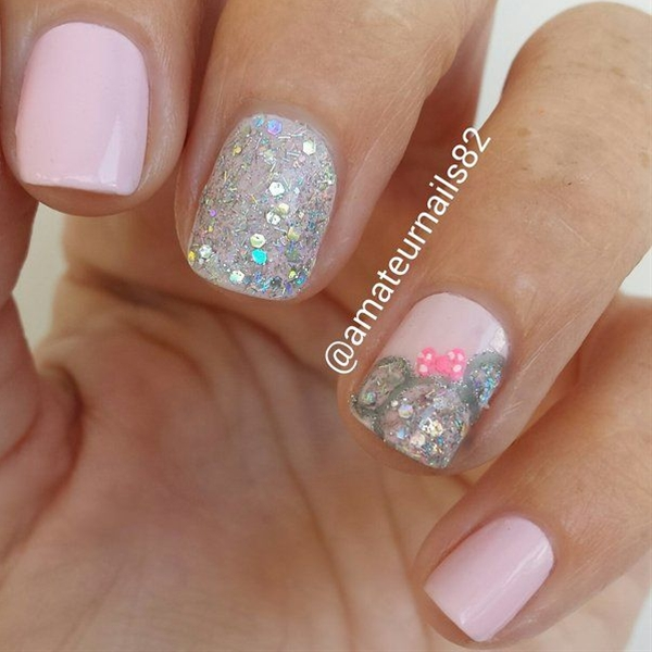 Love the nail color!!