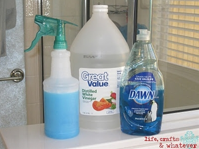 Dawn+Vinegar Cleaner