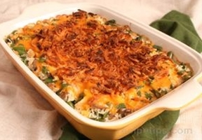 Crunchy Chicken and Rice Bake