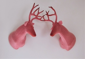 Wildly Whimsical Domestic Trophies Knitted by Rachel Denny