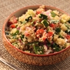 Make-Ahead Quinoa Salad with Cucumber, Tomato, and Herbs
