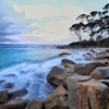 Bay of fires Tasmania by Phil Kuruvita  (kuruvita.tumblr.com)