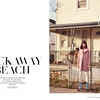 Ewa Wladymiruk Gets Retro in Rockaway Beach for L'Officiel Netherlands Feature