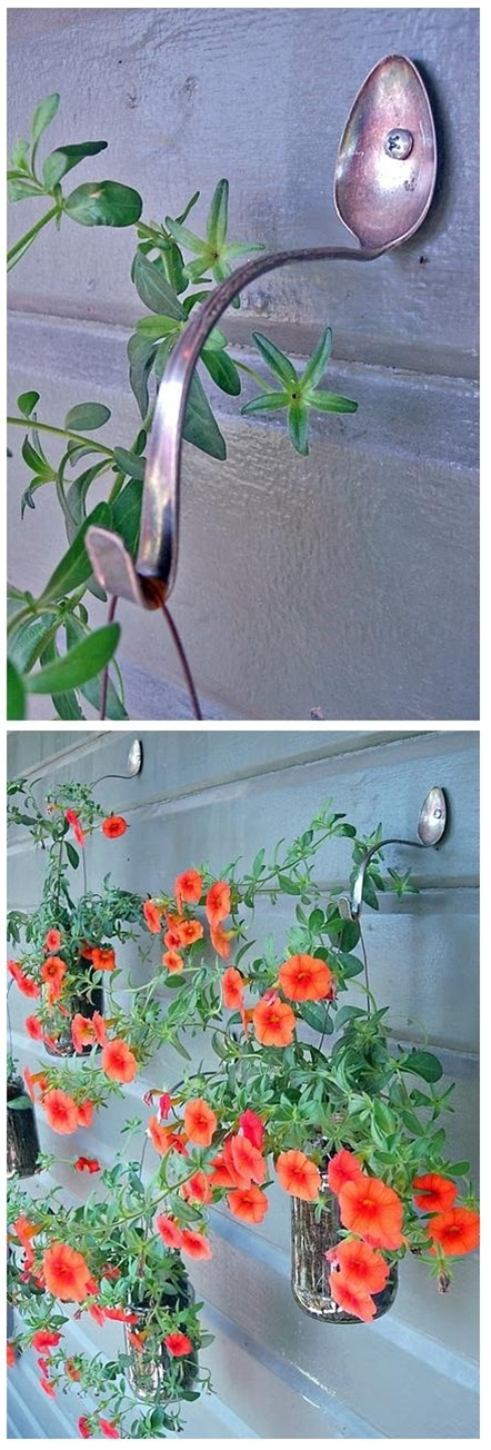 Simple DIY Planter Hangers, LOVE this!