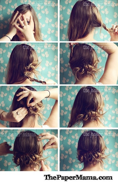 easy twisty hair