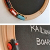 LILLABO railway blackboard
