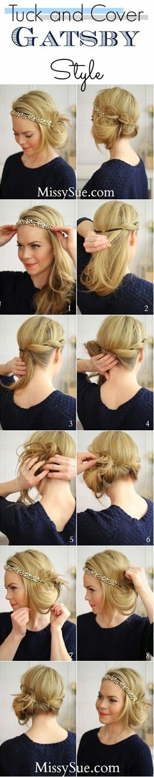 Tried this and I loved it as we'll as all my coworkers! Deff a quick but cute updo.