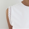 QUICK DIY: LACE TRIMMED TOP