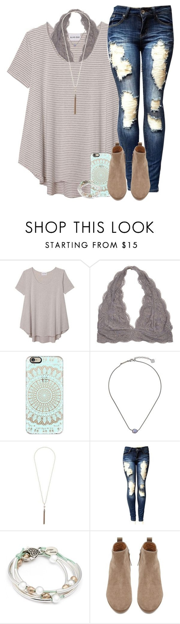 featuring Olive + Oak, Casetify, Kendra Scott, Wallis, Lizzy James and Witchery