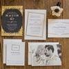 A Glamorous White and Gold Wedding
