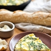 Recipe: Fresh Herb, Potato, and Goat Cheese Frittata — But First, Breakfast!