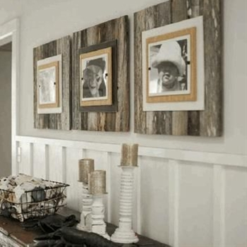 There is a growing trend these days towards upcycling and recycling old objects into something wonderful for the home.