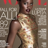 Lupita Nyong'o Is a Dazzling Golden Beacon of Hope on the Cover of Vogue