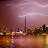 Lightning strikes in Downtown Toronto by Amarpreet Kaur ...