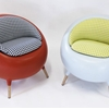 Sculptural Chair Design Adding Cheerfulness to Modern Interior Schemes