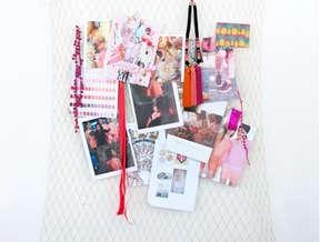 DIY NET INSPIRATION BOARD