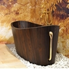 Deep Wooden Craftsman Tub Khis by Frants Seer