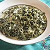 Easy Slow Cooker Creamed Kale