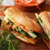 Grilled Lemongrass and Coriander-Marinated Tofu Vietnamese Sandwiches (Vegan Banh Mi)