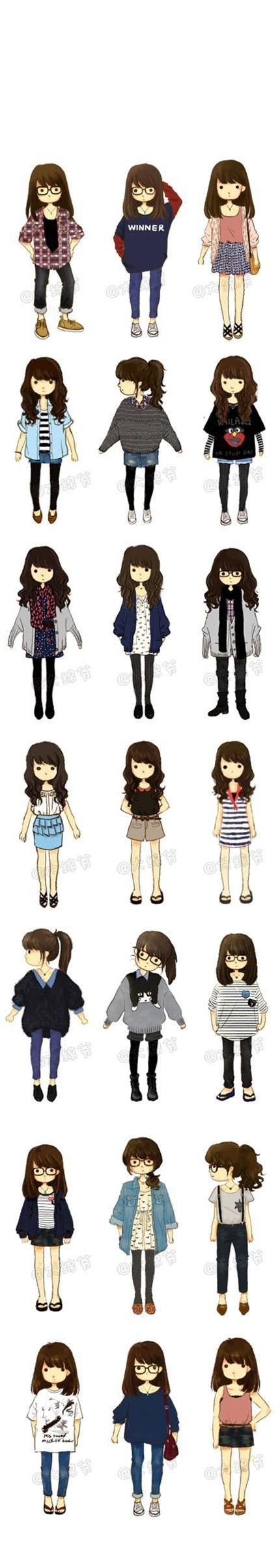 Illustrator นั่งมีฤดูกาลที่สดใหม่ขนาดเล็กที่มี  น้องสาวของ Hao 萌  ผู้เขียนหัวข้อ: