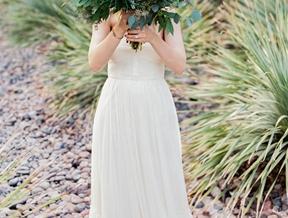 Las Vegas Wedding with Bohemian Details