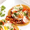 Sweet Potato, Sage, and Fried Egg Tacos