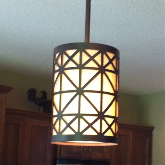 Pretty light fixture