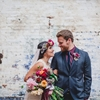 Edgy Luxe; Dark & Colourful Wedding Inspiration