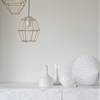 DIY: A Mod Pendant Light Made from Drinking Straws