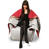 Fairytale-inspired chair shrouds the sitter with a red hood