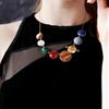 "Super fun necklaces from Eclectic Eccentricity, a store for ""the girl who is inquisitive of heart & inquiring of mind""."