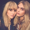 Pals Cara Delevingne & Suki Waterhouse at Burberry Shanghai Event