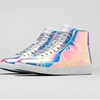 "FASHION: Nike Blazer Mid Premium QS ""Iridescent"" ""If Cinderella's glass slipper fits so perfectly, I wonder why it fell off along the way? I can't help but think…"" - Unknown Nike continue the..."