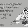 Messy paperwork.