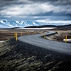 Winding Road Through The Tundra - IcelandHighway 1 winds through...