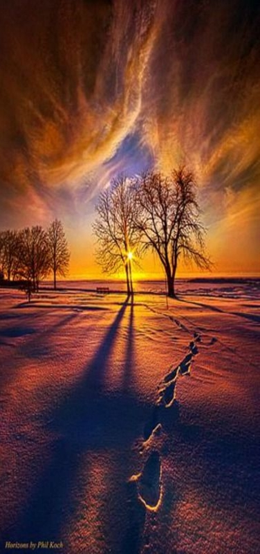 """""""It's Time to Come Home"""" - Horizons, Milwaukee, Wisconsin, USA by Phil Koch."""