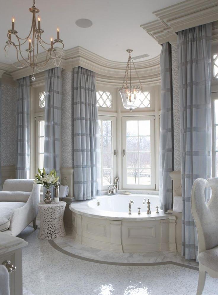 Architecture | Bathrooms | RosamariaGFrangini || 12 Gorgeous Luxury #Bathroom Designs - Style Estate -