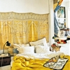 Bohemian Homes: Yellow Moroccan Room