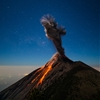 Volcano Fuego twisting smoke by Andy Shepard