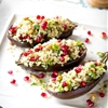 Recipe: Stuffed Eggplants with Herbed Bulgur — Recipes from The Kitchn