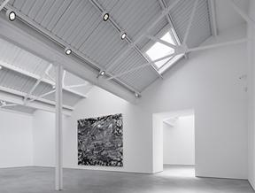 Modern Art gallery takes over three London warehouses opposite a Hawksmoor church