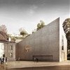 Musée du Léman unveils extension proposal featuring concrete walls and a rooftop lawn