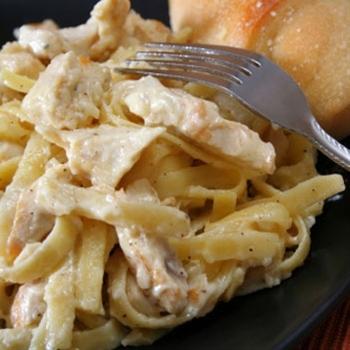 Crockpot Spaghetti & Chicken