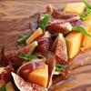 Fig, Melon, and Spanish Ham Salad With Basil